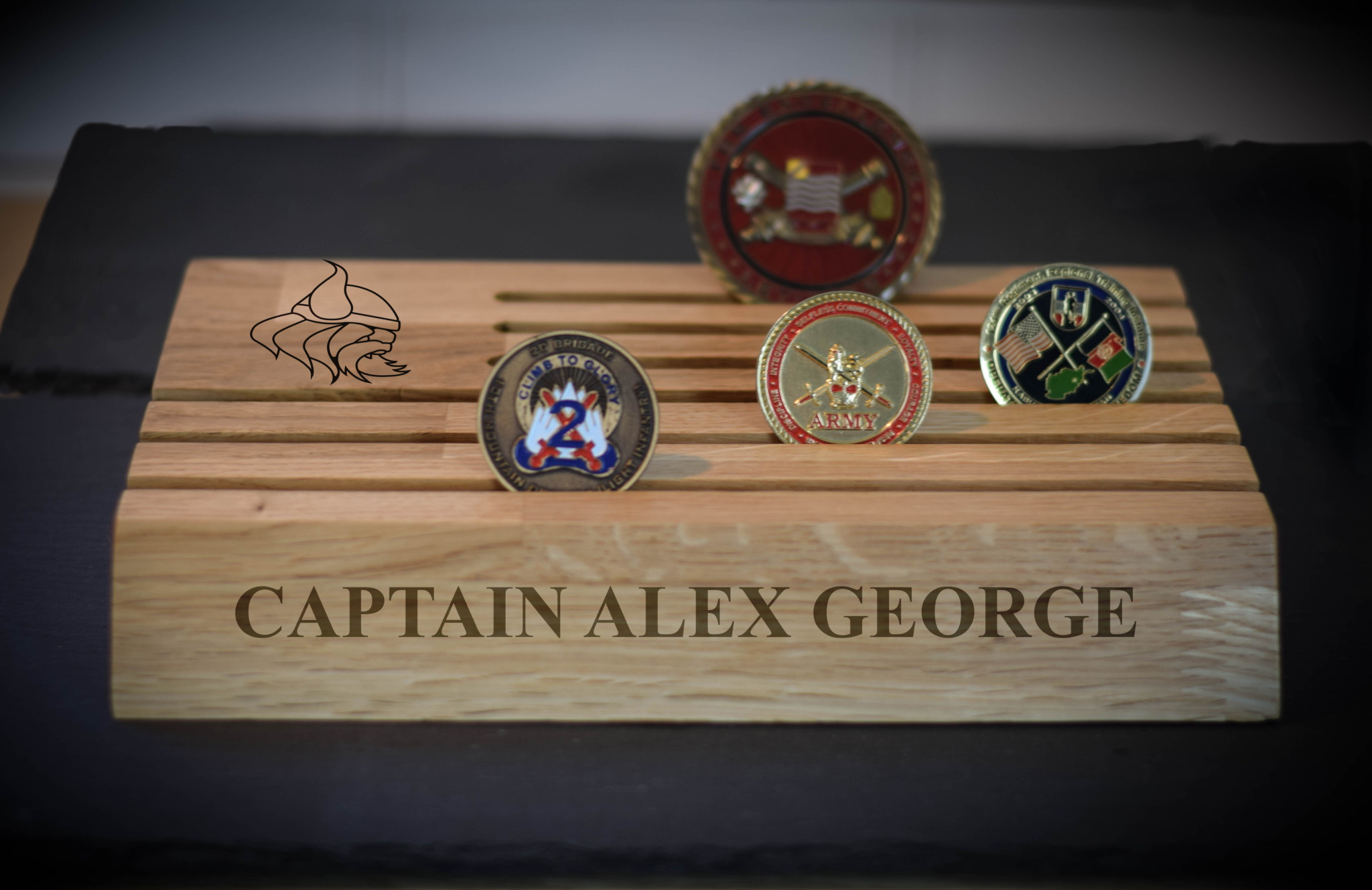 challenge Coin Stand VIKINGS
